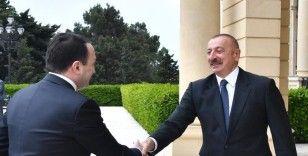 Gürcistan Başbakanı Garibaşvili, Aliyev tarafından kabul edildi