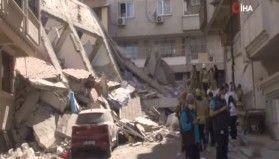 Zeytinburnu Belediyesi'nden çöken binayla ilgili açıklama