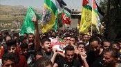 Batı Şeria, çocuk şehidini son yolculuğuna uğurladı