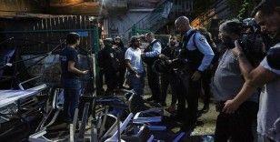 İşgal altındaki Doğu Kudüs'te iftar yapan Filistinliler ile Yahudi yerleşimciler arasında kavga çıktı