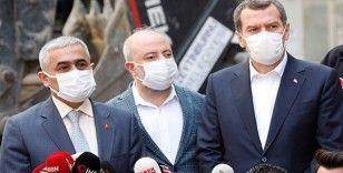 Zeytinburnu Belediye Başkanı Arısoy'dan 'çöken bina' açıklaması: Burada, kısıtlama olmasaydı pazar kurulacaktı
