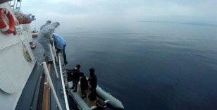 İzmir açıklarında 8 düzensiz göçmen kurtarıldı