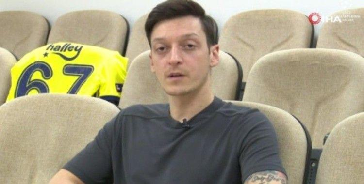 Mesut Özil: 'Türkiye'de futbol sevgisi çok yüksek'