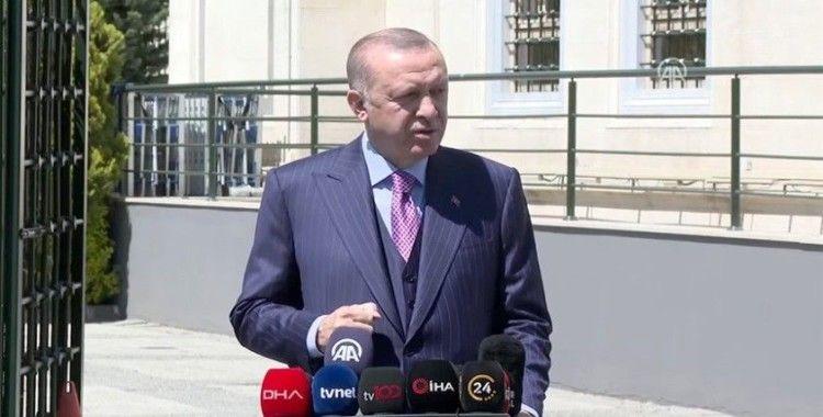 Cumhurbaşkanı Erdoğan: 'Biz ürettiğimiz aşıyı herkesle paylaşacağız'