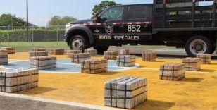 Rotası Mersin Limanı olan 616 paket kokain yüklü gemi Panama'da yakalandı