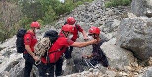 Kayıp İtalyan turist jandarma tarafından kurtarıldı