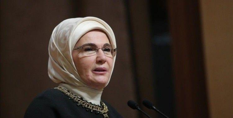 Emine Erdoğan, İsrail'in Mescid-i Aksa'ya yaptığı saldırıyı kınadı