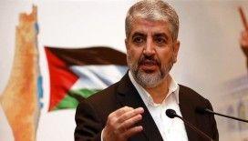 Eski Hamas Lideri Meşal, Kudüs'ün 'Siyonist işgalcilerin ayakları altında kalmayacağını' söyledi