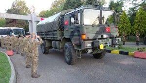 NATO Tatbikatına katılacak olan askerler yola çıktı