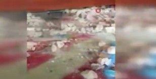 Mescid-i Aksa'daki hasar görüntülendi