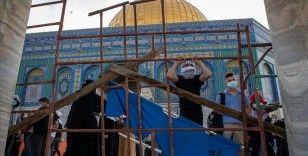Filistinlilerin direnişi İsrail yönetimini Yahudilerin 'Kudüs günü' rotasını değiştirmek zorunda bıraktı
