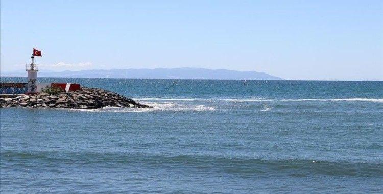 Marmara'da deniz salyası rüzgarın da etkisiyle büyük oranda dağıldı