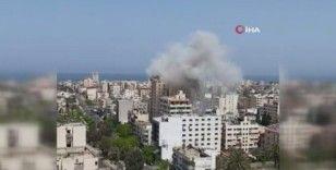 İsrail savaş uçakları Gazze'de bir binayı vurdu: 2 ölü