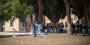 Mescid-i Aksa'ya destek gösterilerine katılan 98 İsrail vatandaşı Filistinli gözaltına alındı
