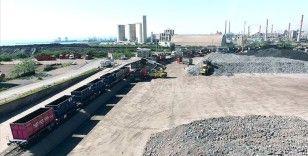 Demir yoluyla taşınan bor, seramik ve mermer miktarı arttı