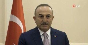"""Çavuşoğlu'ndan Filistin açıklaması: """"Türkiye olarak sessiz kalamazdık"""""""