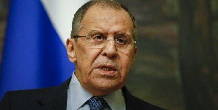 """Rusya Dışişleri Bakanı Lavrov: """"Ortadoğu Dörtlüsü'nün toplanması en acil görev haline geldi"""""""
