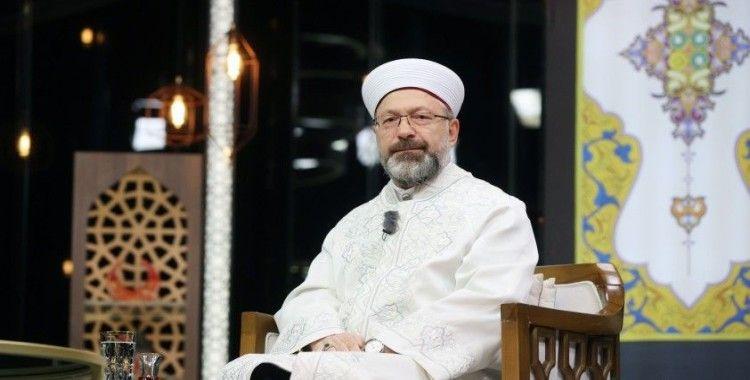Diyanet İşleri Başkanı Prof. Dr. Ali Erbaş: 'Camilerde bayram namazımızı kılacağız'