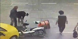 İstanbul'un göbeğinde şoke eden olay: Yaralıya yardım etmek yerine telefonunu çaldı