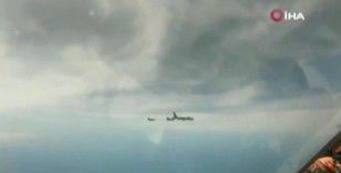 Rus ve Fransız uçakları karşı karşıya geldi