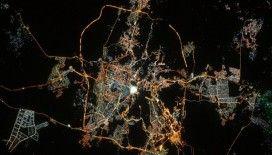 """Fransız astronottan uzaydan """"Kabeli"""" fotoğrafla bayram mesajı"""