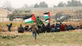 İsrail askerleri Gazze sınırında