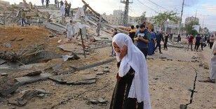 İsrail'in Gazze Şeridi'ne düzenlediği saldırılarda şehit sayısı 119'a yükseldi
