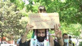 """Filistinliler Topluluğu Başkan Yardımcısı Sayid: """"İsrail vurdukça biz çoğalacağız'"""""""