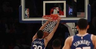 NBA'de Magic'i yenen 76ers Doğu Konferansı liderliğini garantiledi