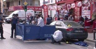 Pendik'te motosiklet sürücüsünün çarptığı kadın hayatını kaybetti