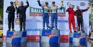 Ali Türkkan Avrupa Ralli Kupası'nda ikide iki yaptı