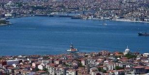 İstanbul'un tarihi ve turistik yerleri havadan görüntülendi
