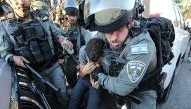 İsrail polisi Doğu Kudüs'te 25 Filistinliyi gözaltına aldı