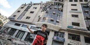 BM: İsrail'in Gazze'ye yönelik hava saldırıları nedeniyle 38 binden fazla Filistinli yerinden edildi