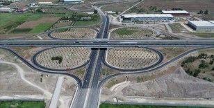 Türk Havacılık ve Uzay Sanayi Köprülü Kavşağı ve bağlantı yolları yarın açılacak