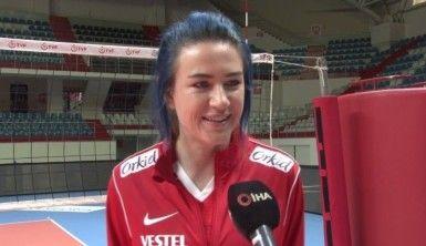 Meryem Boz: Olimpiyatlarda en iyiyi yakalamak için Milletler Ligi iyi bir turnuva olacak