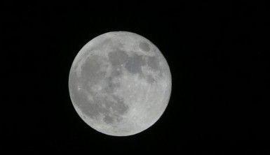 Mersin'de Süper Ay görsel şölen yaşattı