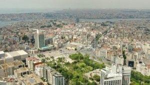 Açılışına saatler kala Taksim Camii havadan görüntülendi