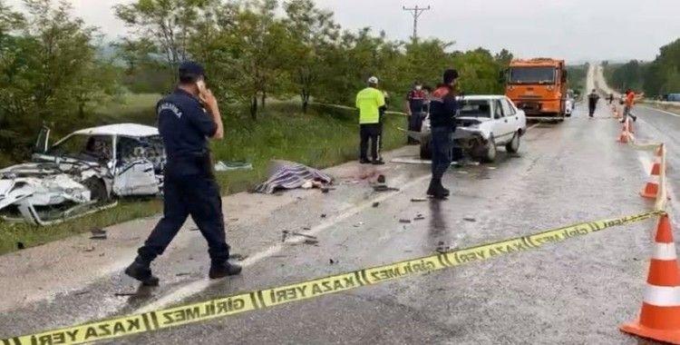 Taşköprü'de feci kaza: 1 ölü