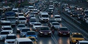 Nisan ayında 102 bin 461 adet taşıtın trafiğe kaydı yapıldı