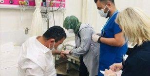 MHP milletvekilleri Kalyoncu ve Karadağ Bolu'da trafik kazasında yaralandı