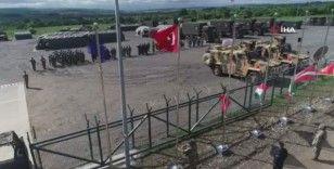 MSB, Steadfast Defender 21 Tatbikatı'nda yer alan bayrak seremonisinin görüntülerini paylaştı
