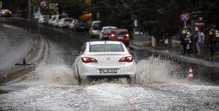 Türkiye'nin kuzey ve batı kesimleri için sağanak uyarısı