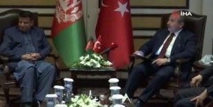TBMM Başkanı Şentop, Afganistan Halk Meclisi Başkanı Rahmani ile görüştü