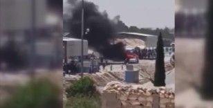 Terör örgütü YPG/PKK, Münbiç kırsalından merkeze ulaşmak isteyen göstericilere ateş açtı: 1 ölü, 6 yaralı