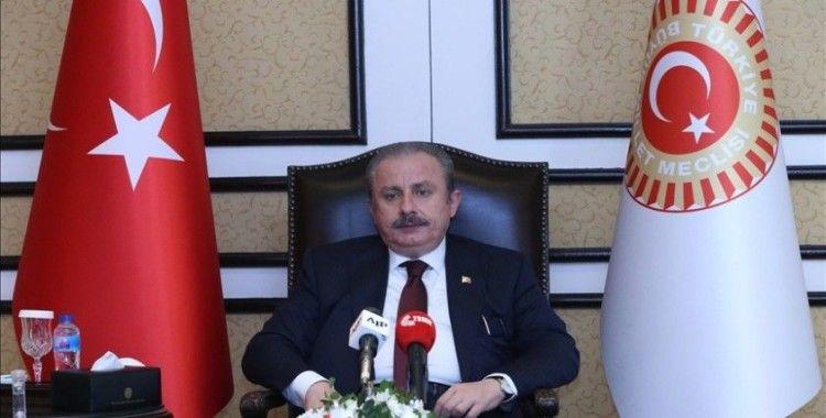 TBMM Başkanı Şentop, İsrail'in yargılanmasına yönelik atılacak adımları desteklediklerini söyledi