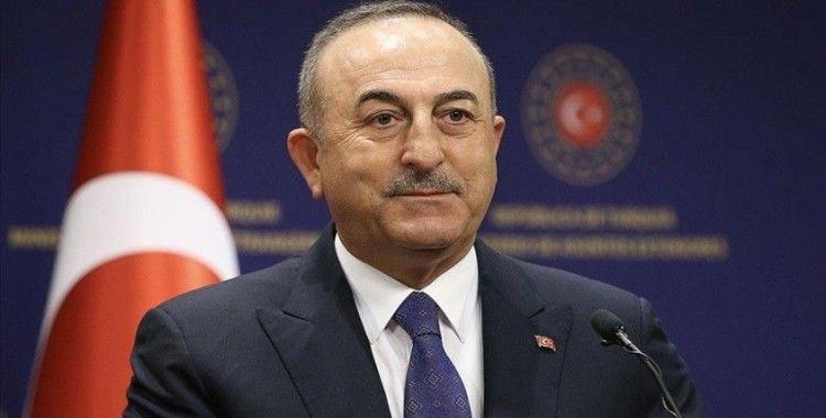 Bakan Çavuşoğlu: İsrail'in bizimle sağlıklı bir ilişki sürdürebilmesi için yanlış politikalardan vazgeçmesi lazım