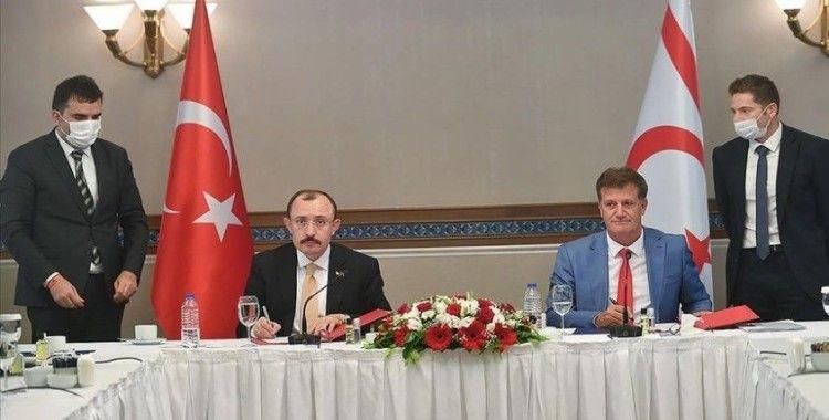 Türkiye ile KKTC arasında ticari ve ekonomik iş birliğinin geliştirilmesine ilişkin protokol imzalandı