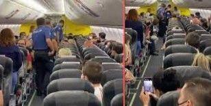 Antalya-İstanbul uçağında taciz iddiası