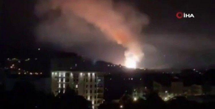 Sırbistan'da mühimmat fabrikasında art arda patlama